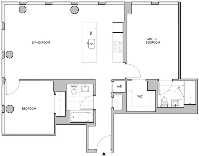 2 Bedrooms, Bowery Rental in NYC for $7,881 - Photo 2
