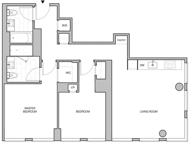 2 Bedrooms, Bowery Rental in NYC for $5,957 - Photo 2