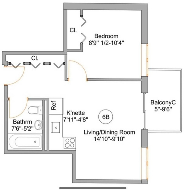 1 Bedroom, Flatbush Rental in NYC for $1,800 - Photo 2