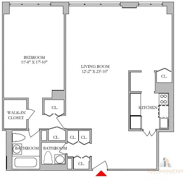 1 Bedroom, Lincoln Square Rental in NYC for $5,700 - Photo 2
