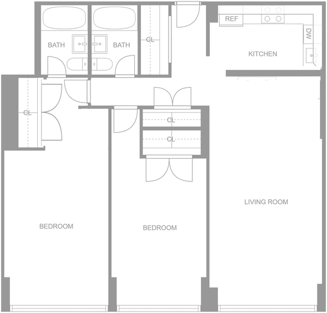 2 Bedrooms, Upper East Side Rental in NYC for $5,845 - Photo 2