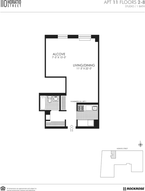 Studio, West Village Rental in NYC for $4,223 - Photo 2