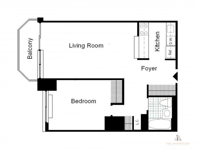 2 Bedrooms, Theater District Rental in NYC for $5,333 - Photo 2