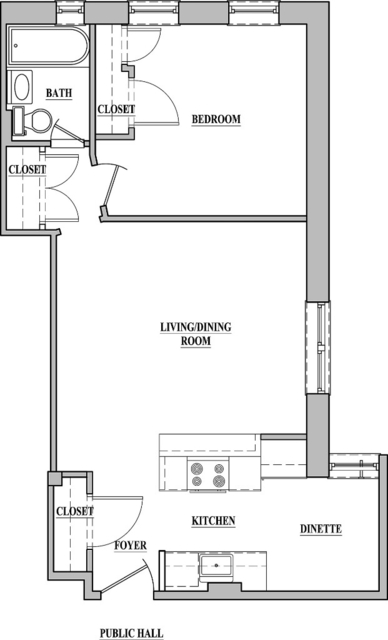 1 Bedroom, Upper East Side Rental in NYC for $3,922 - Photo 2