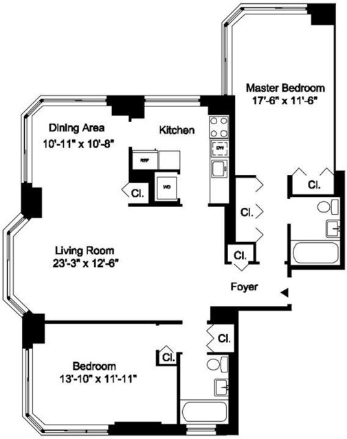 2 Bedrooms, Yorkville Rental in NYC for $6,195 - Photo 1