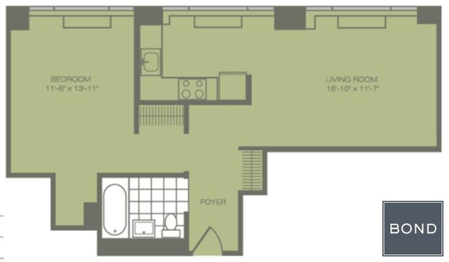 1 Bedroom, Koreatown Rental in NYC for $4,695 - Photo 1