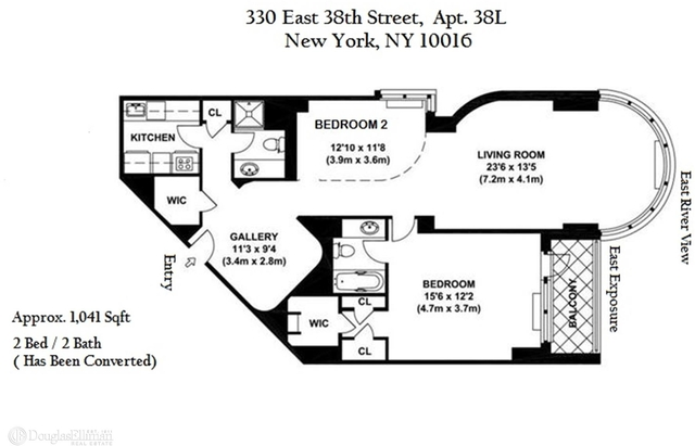 1 Bedroom, Murray Hill Rental in NYC for $5,350 - Photo 2
