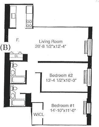 2 Bedrooms, Battery Park City Rental in NYC for $5,450 - Photo 2