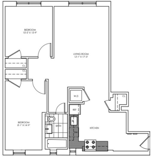 3 Bedrooms, Chelsea Rental in NYC for $6,021 - Photo 2
