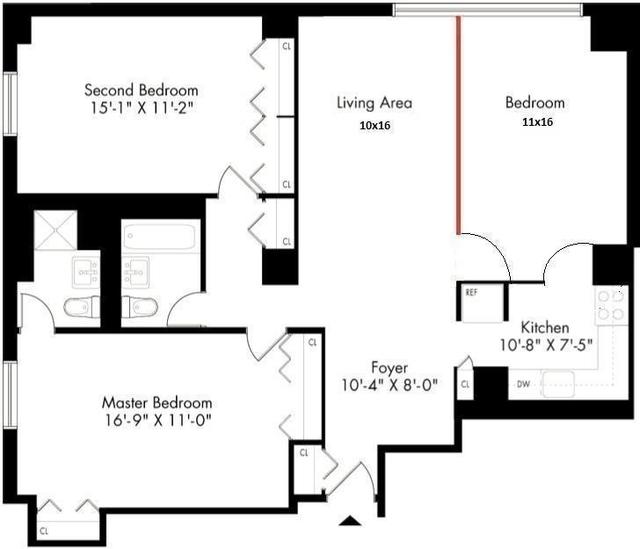 2 Bedrooms, Kips Bay Rental in NYC for $4,200 - Photo 2