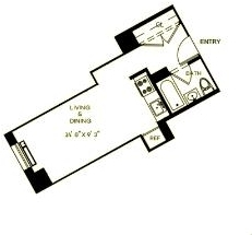 1 Bedroom, Financial District Rental in NYC for $3,790 - Photo 2