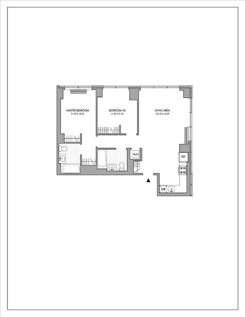 2 Bedrooms, Hell's Kitchen Rental in NYC for $4,968 - Photo 2
