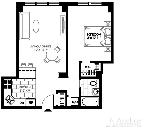 1 Bedroom, Manhattan Valley Rental in NYC for $3,387 - Photo 2
