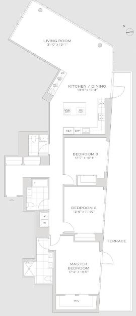 3 Bedrooms, Turtle Bay Rental in NYC for $27,695 - Photo 2