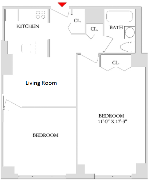 1 Bedroom, Rose Hill Rental in NYC for $3,570 - Photo 2