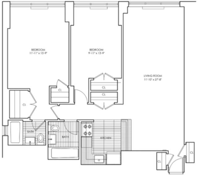 2 Bedrooms, Upper East Side Rental in NYC for $5,339 - Photo 2
