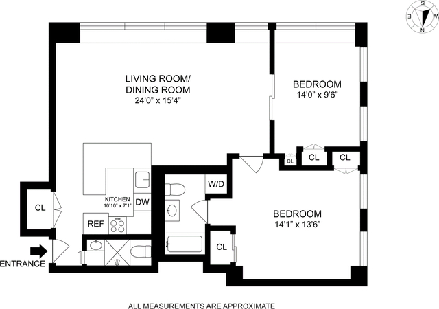 2 Bedrooms, East Village Rental in NYC for $5,750 - Photo 2