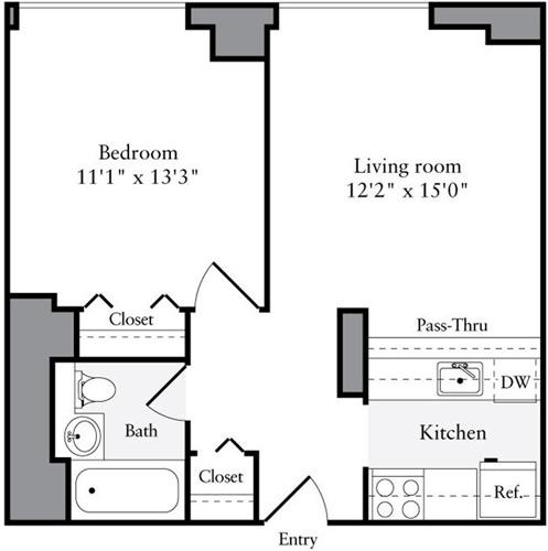 1 Bedroom, Brooklyn Heights Rental in NYC for $3,689 - Photo 2