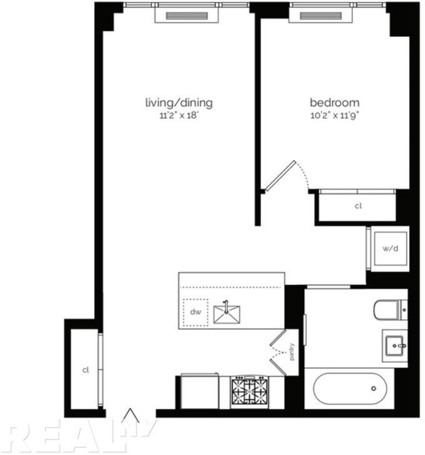 1 Bedroom, Lower East Side Rental in NYC for $4,430 - Photo 2