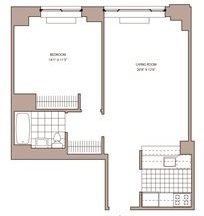 1 Bedroom, NoMad Rental in NYC for $4,631 - Photo 2