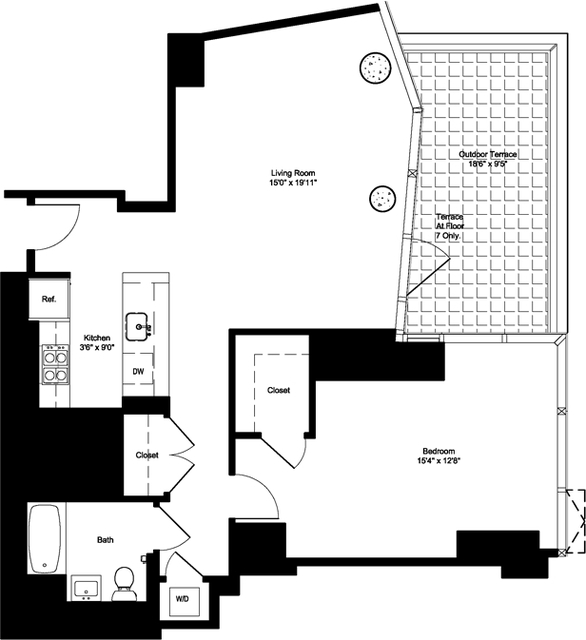1 Bedroom, NoMad Rental in NYC for $7,085 - Photo 2