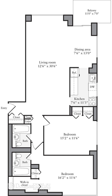 2 Bedrooms, Murray Hill Rental in NYC for $6,521 - Photo 2