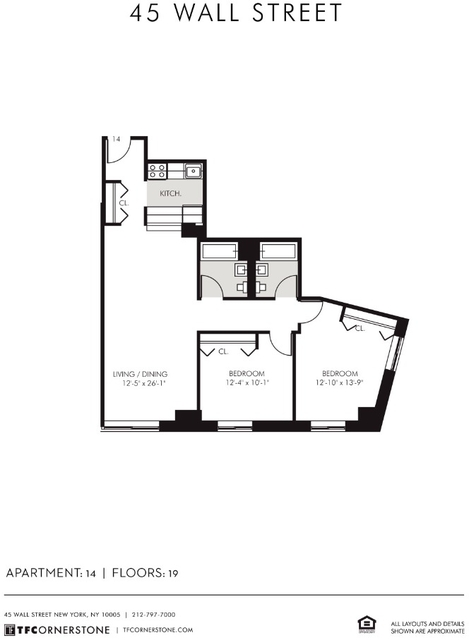 2 Bedrooms, Financial District Rental in NYC for $5,313 - Photo 2