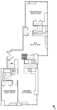 2 Bedrooms, Chelsea Rental in NYC for $8,400 - Photo 2