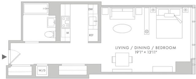 Studio, Lincoln Square Rental in NYC for $4,120 - Photo 2
