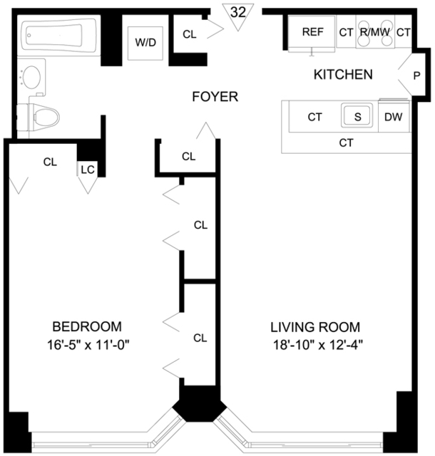 1 Bedroom, Garment District Rental in NYC for $4,197 - Photo 2