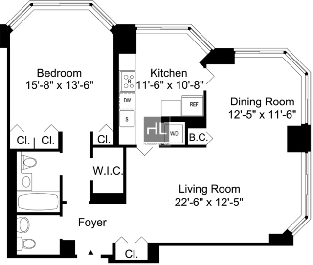 1 Bedroom, Murray Hill Rental in NYC for $5,591 - Photo 2