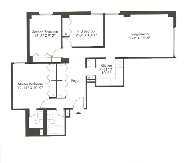 3 Bedrooms, Kips Bay Rental in NYC for $5,000 - Photo 2