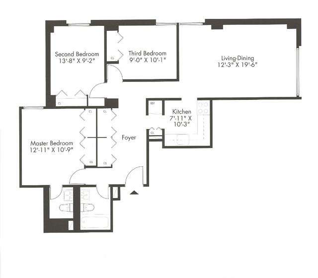 3 Bedrooms, Kips Bay Rental in NYC for $5,400 - Photo 2