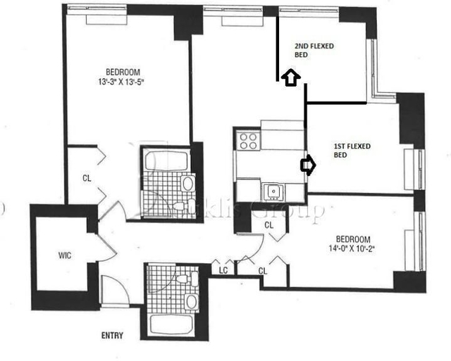 2 Bedrooms, Battery Park City Rental in NYC for $6,600 - Photo 1