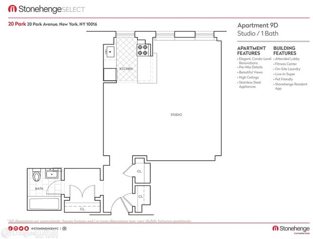 Studio, Murray Hill Rental in NYC for $3,479 - Photo 2