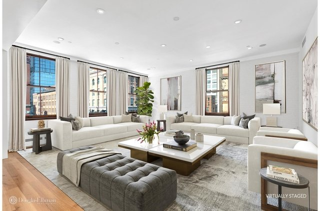 3 Bedrooms, Tribeca Rental in NYC for $20,000 - Photo 2