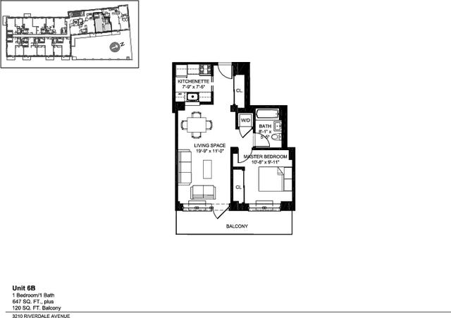 1 Bedroom, Kingsbridge Rental in NYC for $2,175 - Photo 2