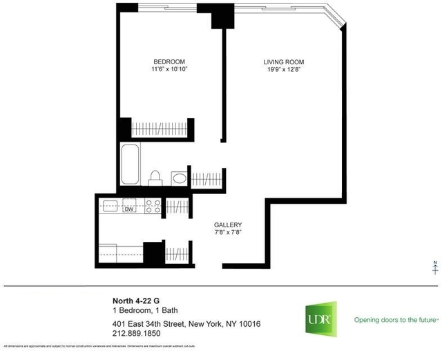 1 Bedroom, Murray Hill Rental in NYC for $3,569 - Photo 2
