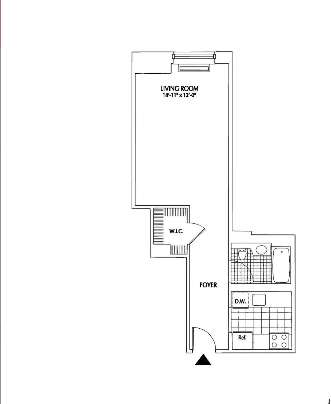 Studio, Financial District Rental in NYC for $2,672 - Photo 2