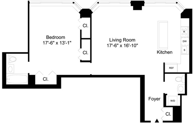 1 Bedroom, Lincoln Square Rental in NYC for $7,995 - Photo 2