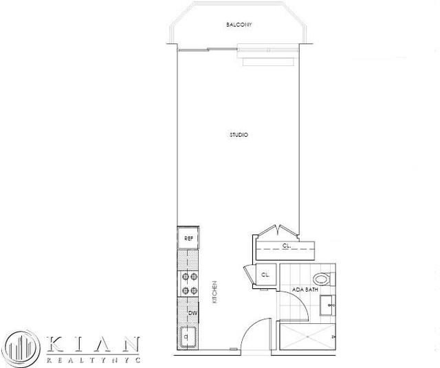 Studio, Theater District Rental in NYC for $3,315 - Photo 2