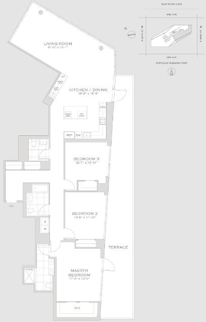 Studio, Turtle Bay Rental in NYC for $27,695 - Photo 2