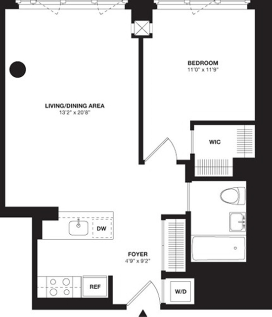 1 Bedroom, Chelsea Rental in NYC for $5,734 - Photo 2