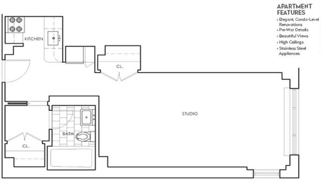 Studio, Murray Hill Rental in NYC for $2,979 - Photo 2