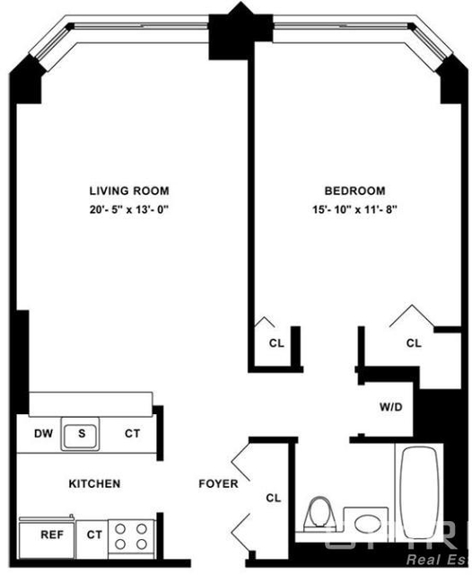 1 Bedroom, Tribeca Rental in NYC for $4,517 - Photo 2