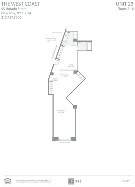 Loft, West Village Rental in NYC for $4,487 - Photo 2