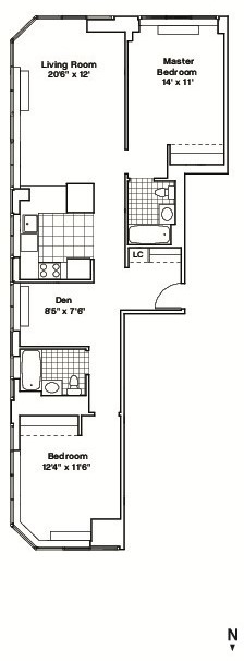 Room, Hell's Kitchen Rental in NYC for $2,015 - Photo 2