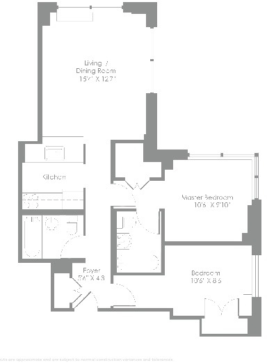 2 Bedrooms, Theater District Rental in NYC for $5,019 - Photo 2
