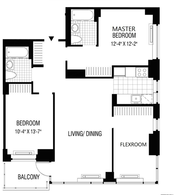 Room, Financial District Rental in NYC for $2,079 - Photo 2