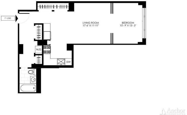 Studio, Manhattan Valley Rental in NYC for $3,058 - Photo 2